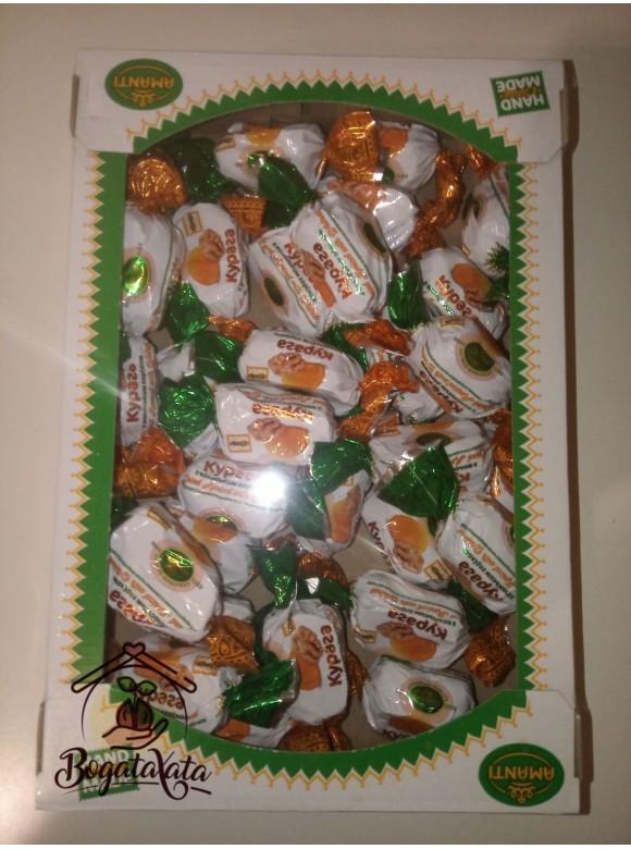 Конфеты  ТМ Amanti курага с грецким орехом