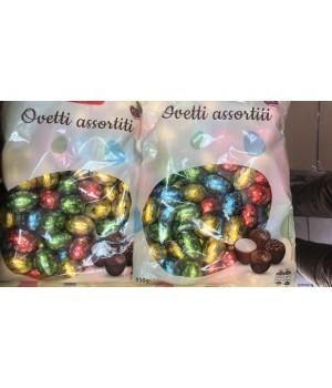 """Шоколадные  яйця Dolciando """"Ovetti assortiti"""" 850 грамм (Італія)"""
