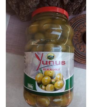 Оливки зеленые с\к Yunus (Турция ) 2650 гр