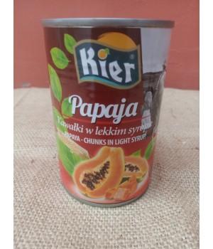 Папайя консервированная ж/б (420 грам) Тайланд