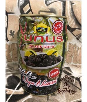 Оливки черные вяленые ж/б Турция «Yunus» 1кг