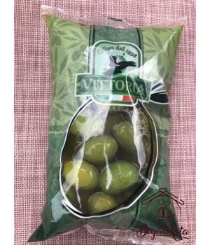 Оливки зеленые крупные 500 гр