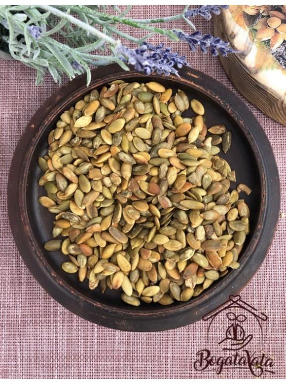 Семечки тыквы очищенные жареные-соленые