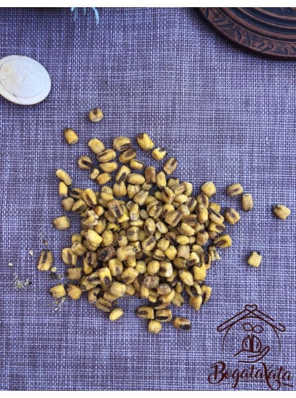 Жареная кукуруза (мед-горчица)