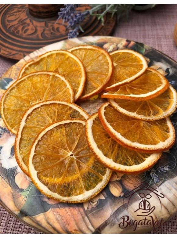 Апельсин сушеный  кружечками