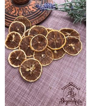 Лимон сушенный кружочками