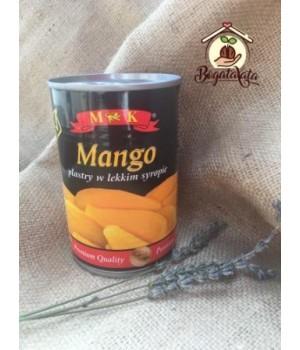 Манго кусочками консервированное 425/230g